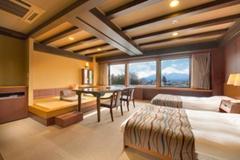 富士山眺望露天風呂付客室 デラックススタンダード