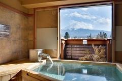 富士山展望 檜貸切風呂