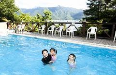夏季:屋外プール